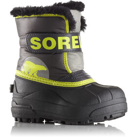 Sorel Snow Commander Botas Niños, dark grey/warning yellow
